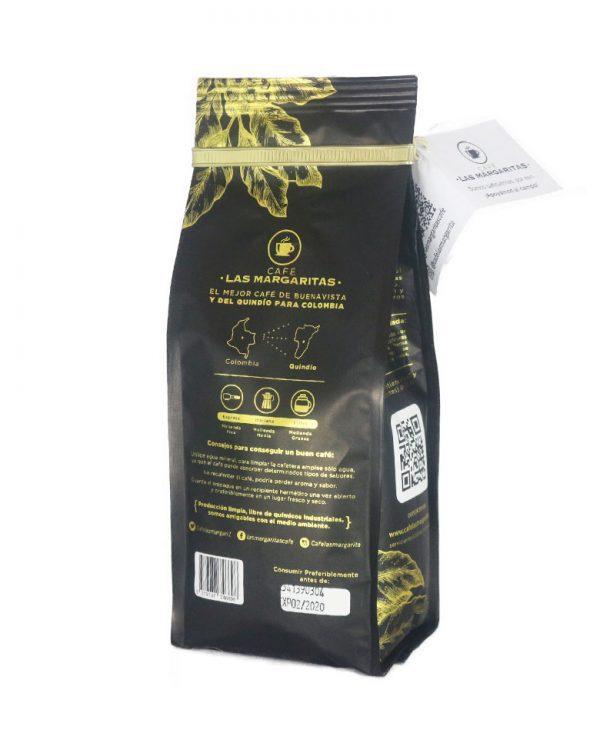 Cafe molido, cafe en grano, Cafe Las Margaritas Especial Tipo Exportación, Vendedores de Café Colombiano, café origen