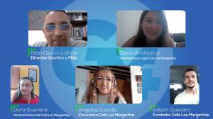 Entrevista Gestión y más, café las margaritas, café origen quindío